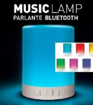 PARLANTE BLUETOOTH CON LUZ LED