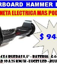PATINETA ELECTRICA (HOVERBOARD HAMMER BLACK)