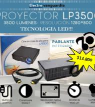 PROYECTOR LED MINI LP3500